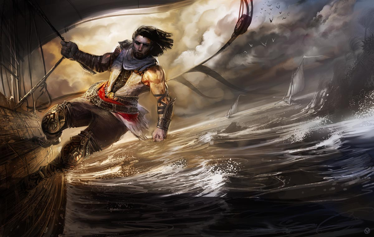 prince of persia « vyle-art>> the art of david levy